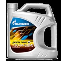 Масло моторное Газпромнефть Дизель Турбо SAE 20 (типа М-8ДМ) (4л/3,52 кг.)