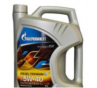 Масло моторное Gazpromneft Diesel Premium 5W-40 (5 л. /4,31 кг)