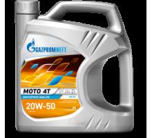Масло моторное Gazpromneft Moto 4T 20W-50 (4 л./3,54 кг)