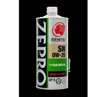 IDEMITSU ZEPRO Eco Medalist 0w-20  1л