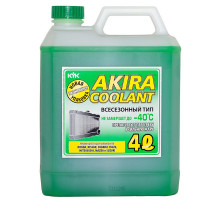 Akira Coolant -40 зелёный 4л.