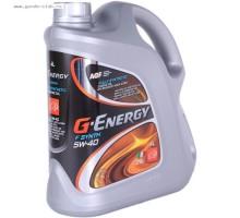 Масло моторное G-Energy F Synth 5W-40 (4 л. /3,422 кг.)